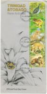 TRINIDAD & TOBAGO - 1989 - Rare Animals - FDC - Trindad & Tobago (1962-...)