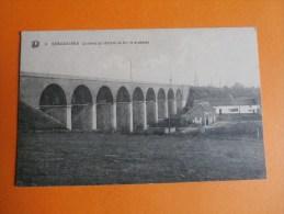 ECAUSSINNES-Le Pont Du Chemin De Fer(9 Arcades). - Ecaussinnes