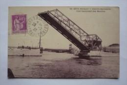 34 -  SETE  - Pont Basculant Des Moulins - Sete (Cette)