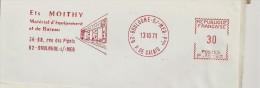 Bureau, Matériel, Pas De Calais, Boulogne -  EMA Havas -  ,enveloppe Entière      (P065) - Berufe