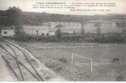 62 - HYDREQUENT - Env. De MARQUISE - L' USINE D' HYDREQUENT - Terrain De Foot , Voie Férrée - SUP RARE - Frankrijk