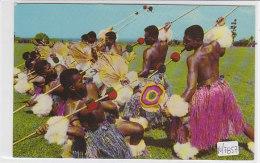 PO7857# FIJI - MEKE WESI (Spear Dance) - DANZE TIPICHE  VG - Figi