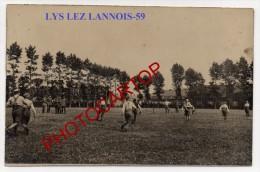 LYS Lez LANNOIS-Fete Sportive Du Regt. Allemand-Carte Photo Allemande-Guerre14-18-1WK-Frankreich-France-59- - France