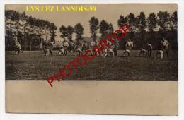 LYS Lez LANNOIS-Fete Sportive Du Regt. Allemand-Carte Photo Allemande-Guerre14-18-1WK -Frankreich-France-59- - France