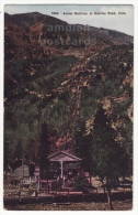 AERIAL RAILWAY TO SUNRISE PEAK COLORADO ~ ca 1910s vintage postcard ~ EARLY LIFT