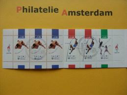 Israel 1996, OLYMPICS ATLANTA: Mi 1397-99, Type II,  (BK) - Markenheftchen