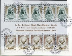 MONACO EUROPA CEPT - 1974 - N° BF9   - OBLITERE COTE 30E - 1974