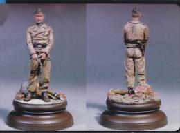 "- SOL - Figurine "" German Panzer Crew WWII ""- 120 Mm  - MM026 - Figurines"