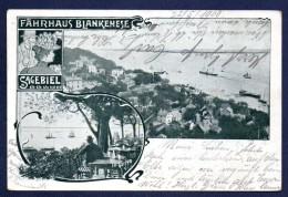 Blankenese (Hambourg). Fährhaus W. Sagebiel. 1900 - Blankenese
