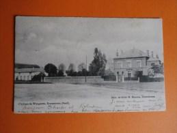 ECAUSSINNES (Nord)-Château De Waugenée. - Ecaussinnes