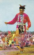 Indian Brave Green Rainbow Doing Hoop Dance Long Island Shinneco