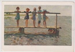 Children In USSR Art   1963 - Groupes D'enfants & Familles