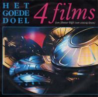 """* 7"""" *  HET GOEDE DOEL - 4 FILMS (Holland 1987) - Vinyl-Schallplatten"""