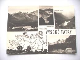 Slovakije Slovensko Vysoke Tatry - Slowakije