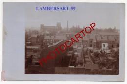 LAMBERSART-Carte Photo Allemande-Guerre 14-18-IWK-Frankreich-France-59- - Lambersart