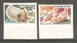 Sellos  Nº 967.31 Y 967.32 Domfil Sin Dentar Niger - Pájaros