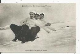 Les Sports D´Hiver Dans Les Vosges   Lugeurs - France