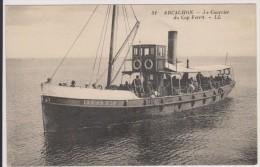 D33 - ARCACHON - LE COURRIER DU CAP FERRET (erreur Sur La Carte Mention CAP FERRIT) - état Voir Descriptif - Arcachon