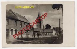 LEWARDE-Carte Photo Allemande-Guerre 14-18-IWK-Frankreich-France-59- - Francia
