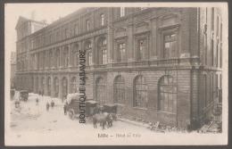 59---LILLE----Hotel De Ville--attelage--animé - Lille