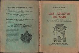 Livre - LES AMANTS De SAÏS - Edmont PANET - Un Acte En Vers  -  1951 - Teatro