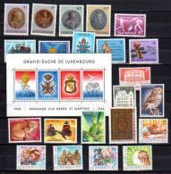 Luxembourg Année 1985  Complète, 1067 / 1092 **, Cote 60,60 €, - Ganze Jahrgänge
