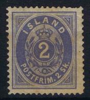 Islande Icland 1873 Yv / Mi Nr 1 MH/* - Nuevos
