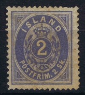 Islande Icland 1873 Yv / Mi Nr 1 MH/* - Ongebruikt