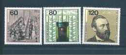 Allemagne  Fédérale  Timbres   De 1984  N° 1050  A  1052  Neufs - BRD