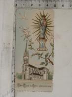 Image Religieuse - Notre Dame Du Chêne - Diocèse Du Mans - Devotion Images