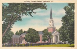 CPSM - DAVIDSON COLLEGE CHURCH - DAVIDSON N.C. - Etats-Unis