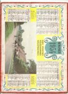ALMANACH DES PTT 1954 CALENDRIER OLLER PARIS - Calendriers