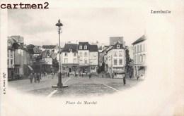 LAMBALLE PLACE DU MARCHE EN 1900 - Lamballe