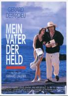 99-CARTE POSTALE Film MON PERE CE HEROS De Gerard Lauzier Avec Gerard Depardieu - Posters On Cards