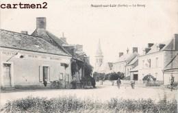 NOGENT-SUR-LOIR LE BOURG ANIME CAFE AUBERGE 72 - France