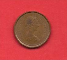 CANADA, 1982, XF Circulated Coin, 1 Cent, Bronze,  Km 132,  C1841 - Canada