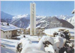 SUISSE - VERBIER L'EGLISE VB77 -  SCHWEIZ  SWITZERLAND SVIZZERA - VS Valais