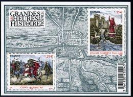 France 2012  -Les Grandes Heures De L´histoire-Clovis à Vouillé -Ste Geneviève à Paris MNH - Unused Stamps