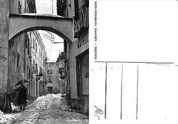 Porlezza Raro Scorcio Innevato ANIMATA + MACELLERIA Anni '50 (R-L 117) - Como