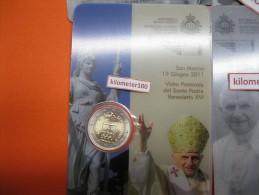 2 € 2011 - SAN MARINO  Coincard - San Marino