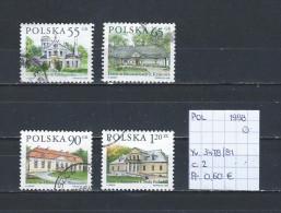 Polen 1998 - YT 3478/81 Gest./obl./used - 1944-.... République