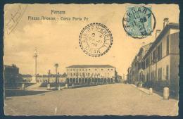 Emilia Romagna FERRARA Piazza Ariostea Corso Porta Po - Ferrara