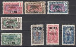 Tchad 8 Differents - Chad (1922-1936)