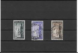 ITALIA REPUBBLICA SERIE E.R.P. NR.TRE FRANCOBOLLI - 6. 1946-.. Repubblica
