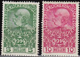 Austria 1914, Emperor Franz Josef, MLH