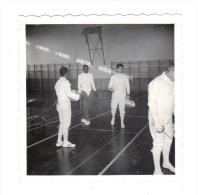 Photographie Originale: Escrime, Escrimeurs, Roissy 1971 (14-3822) - Fencing