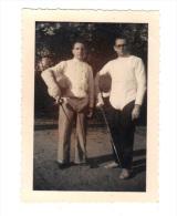 Photographie Originale: Escrime, Escrimeurs, 1971 (14-3823) - Escrime