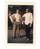Photographie Originale: Escrime, Escrimeurs, 1971 (14-3823) - Fencing
