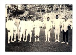 Photographie Originale: Escrime, Escrimeurs, Pointe à Pitre 1971 (14-3824) - Fencing