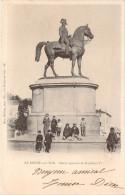 CPA La Roche-sur-Yon Statue équestre De Napoléon 1er (animée)(précurseur) E343 - La Roche Sur Yon